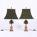 Pair of Maison Charles Table Lamps - picture 1