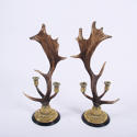 Antler Candlestick Holders - picture 1
