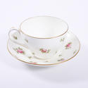 Set of Six Tea Cups and Saucers - picture 1