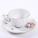 Set of Six Tea Cups and Saucers - picture 4
