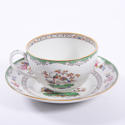 Set of Six Tea Cups and Saucers - picture 6
