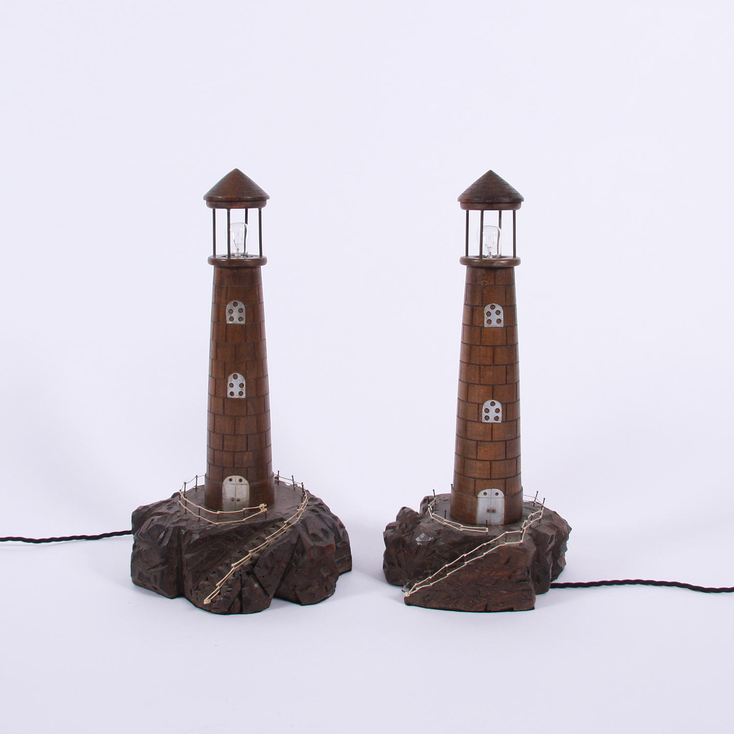 Pair of Lighthouse Lamps