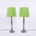 Pair of Aluminium Lamps - picture 1
