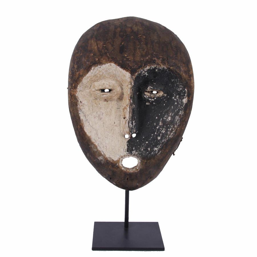 Mid-Twentieth Century Lega Tribal Mask