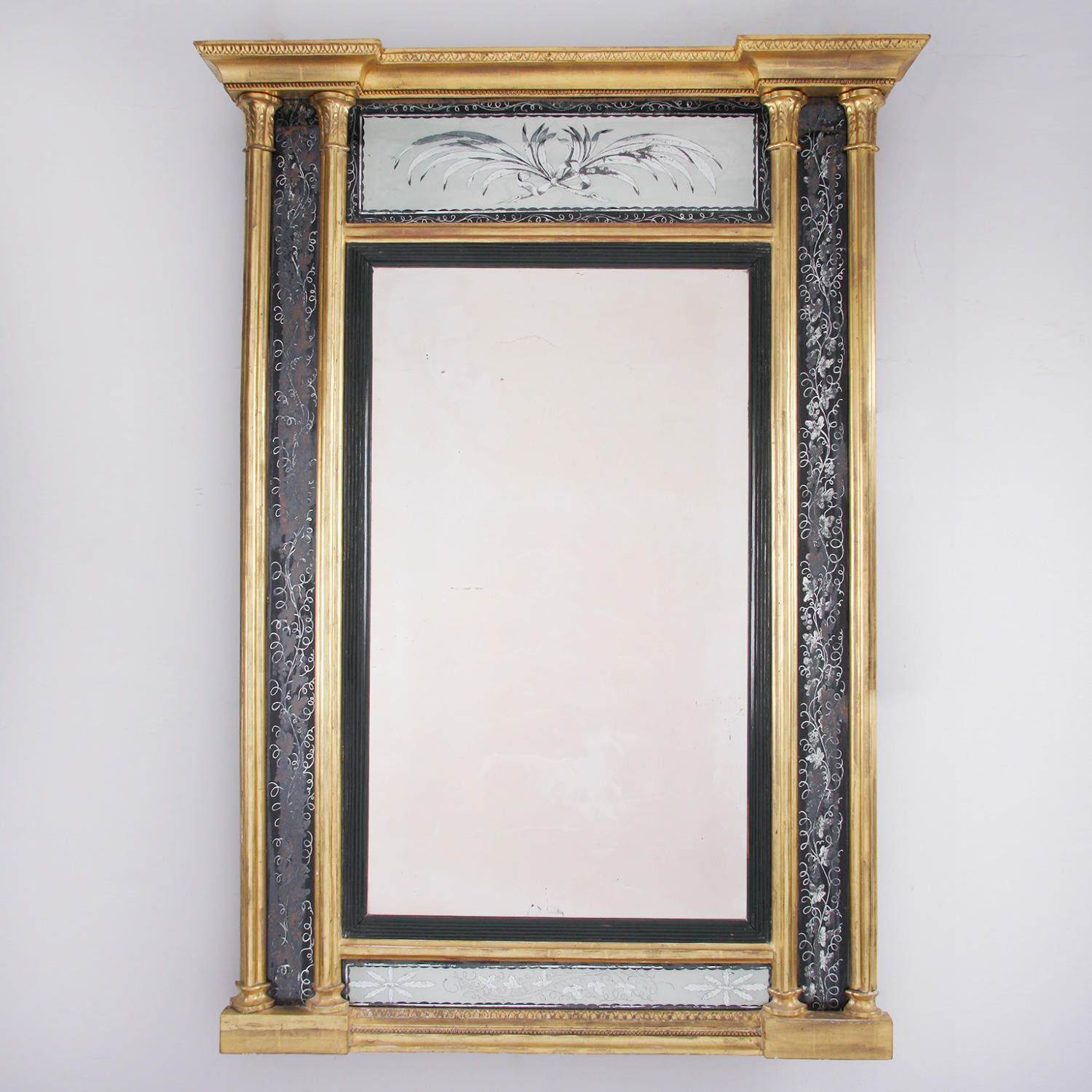 Regency Giltwood Mirror