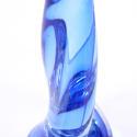 Pair of Blue Val Saint Lambert Lamps - picture 4