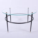 Circular Glass Coffee Table - picture 1