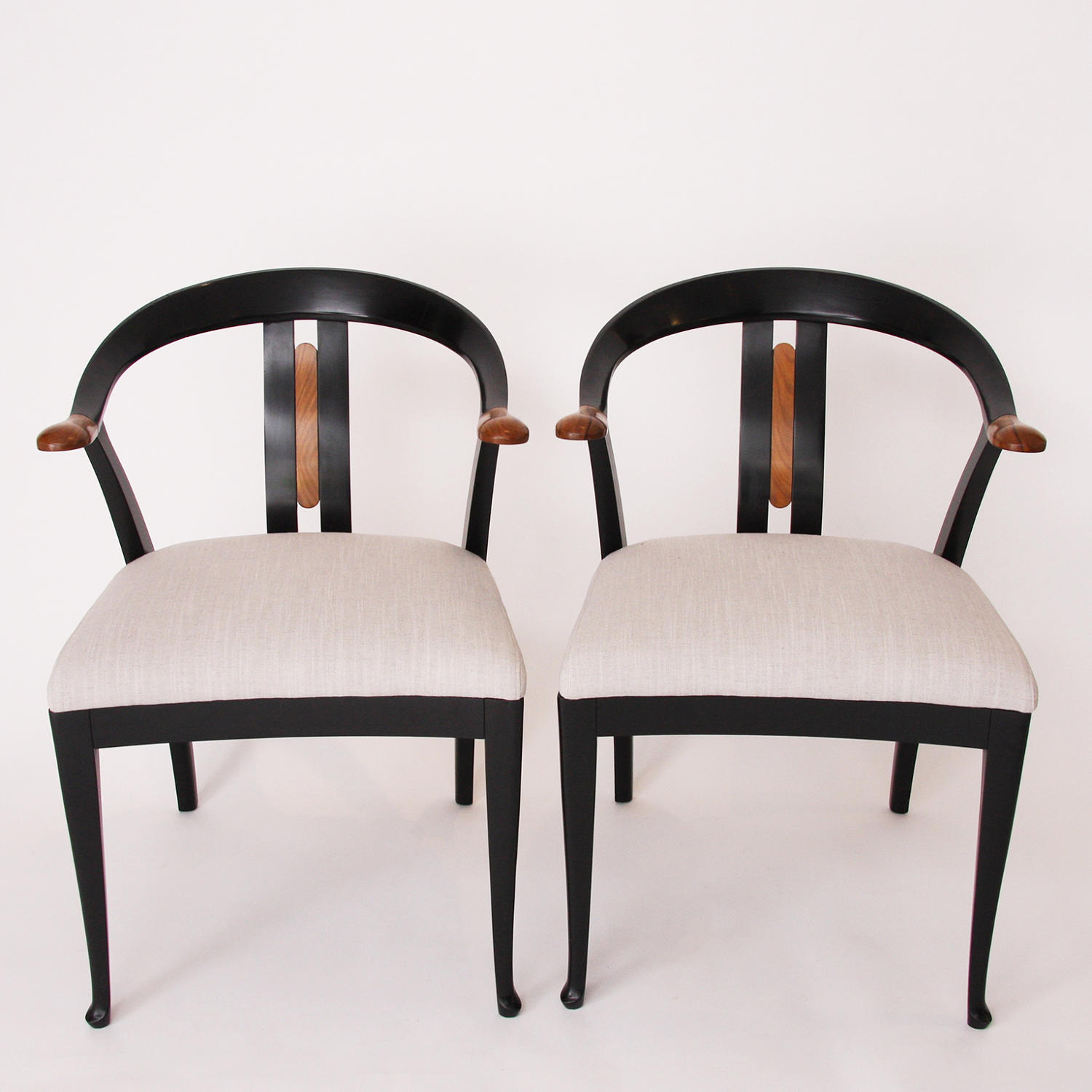 Pair of Giorgetti Chairs