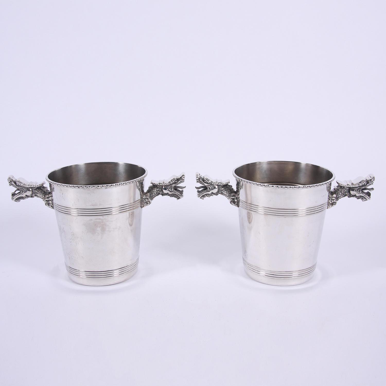 Pair of Dragon Ice Buckets
