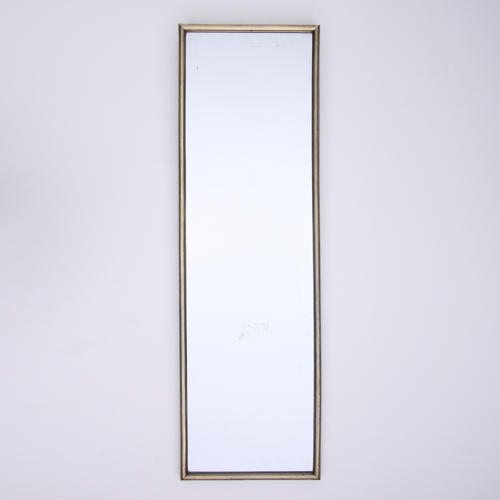 Brass Framed Bistro Mirror