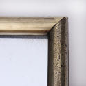 Brass Framed Bistro Mirror - picture 5