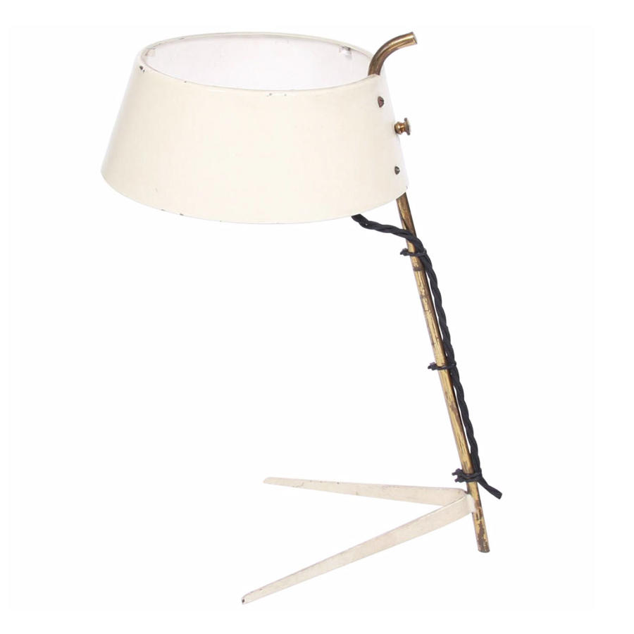 Metal Shade Table Lamp
