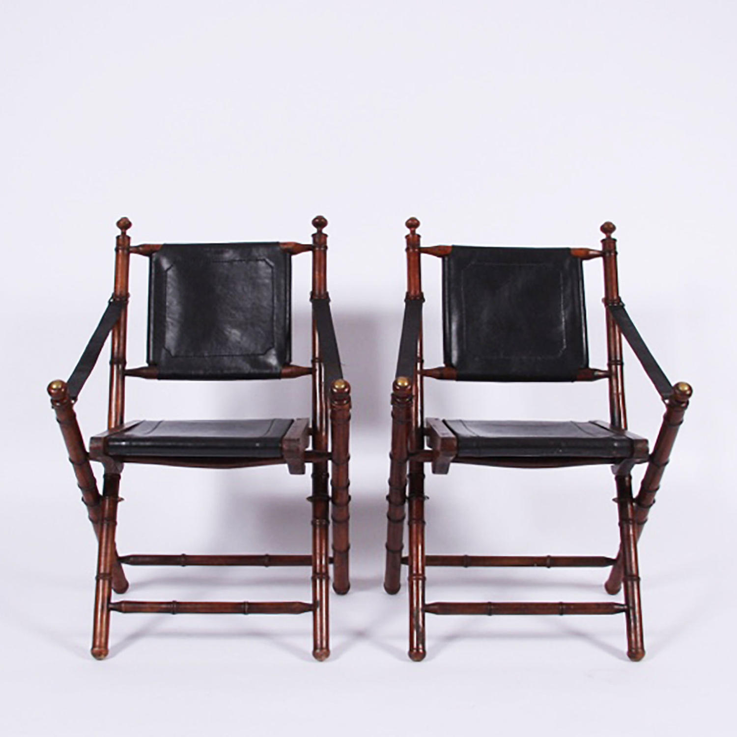 Pair of Campaign Chairs
