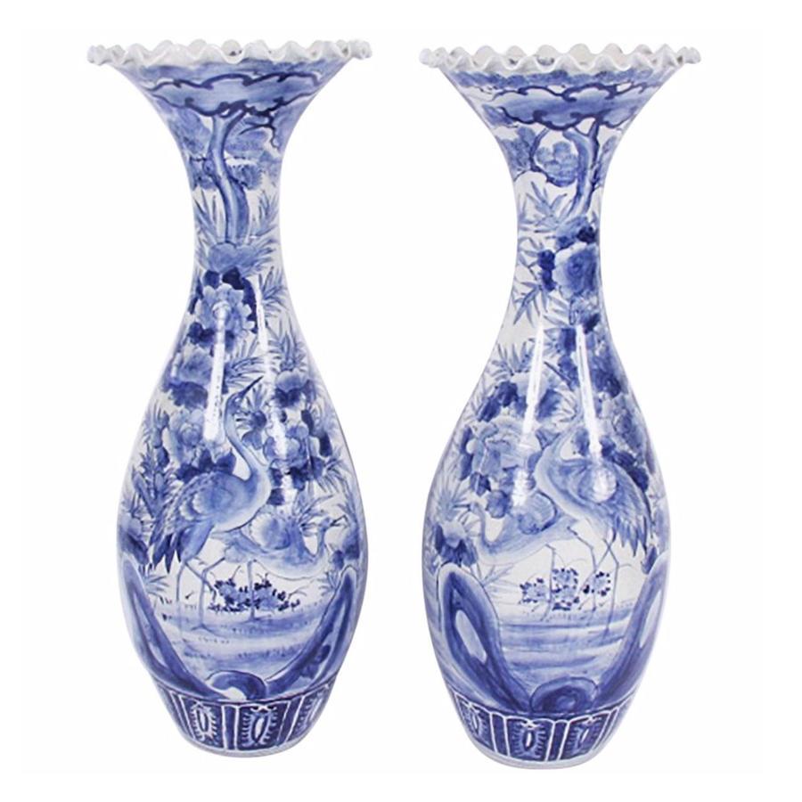 Pair of Large Decorative Vases