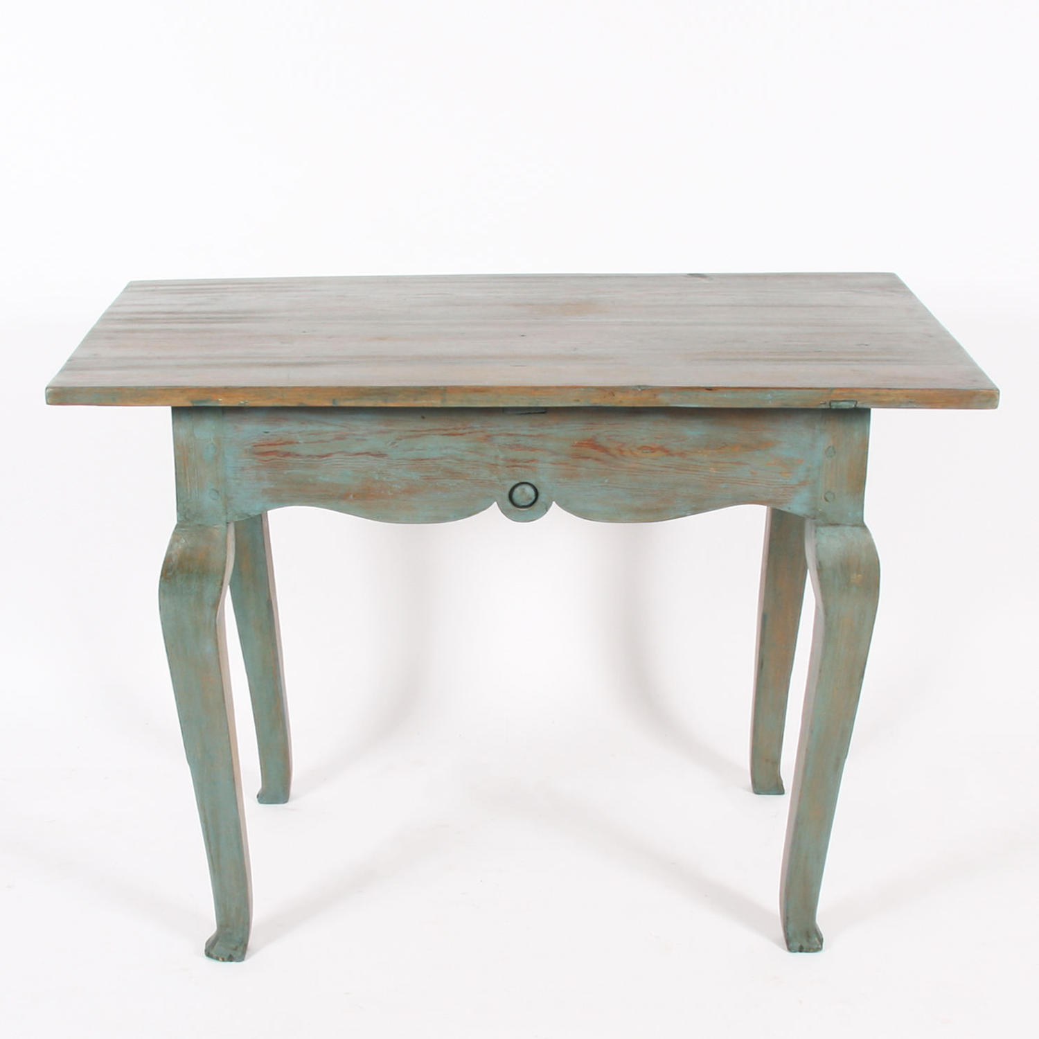 Painted C18th Swedish Table