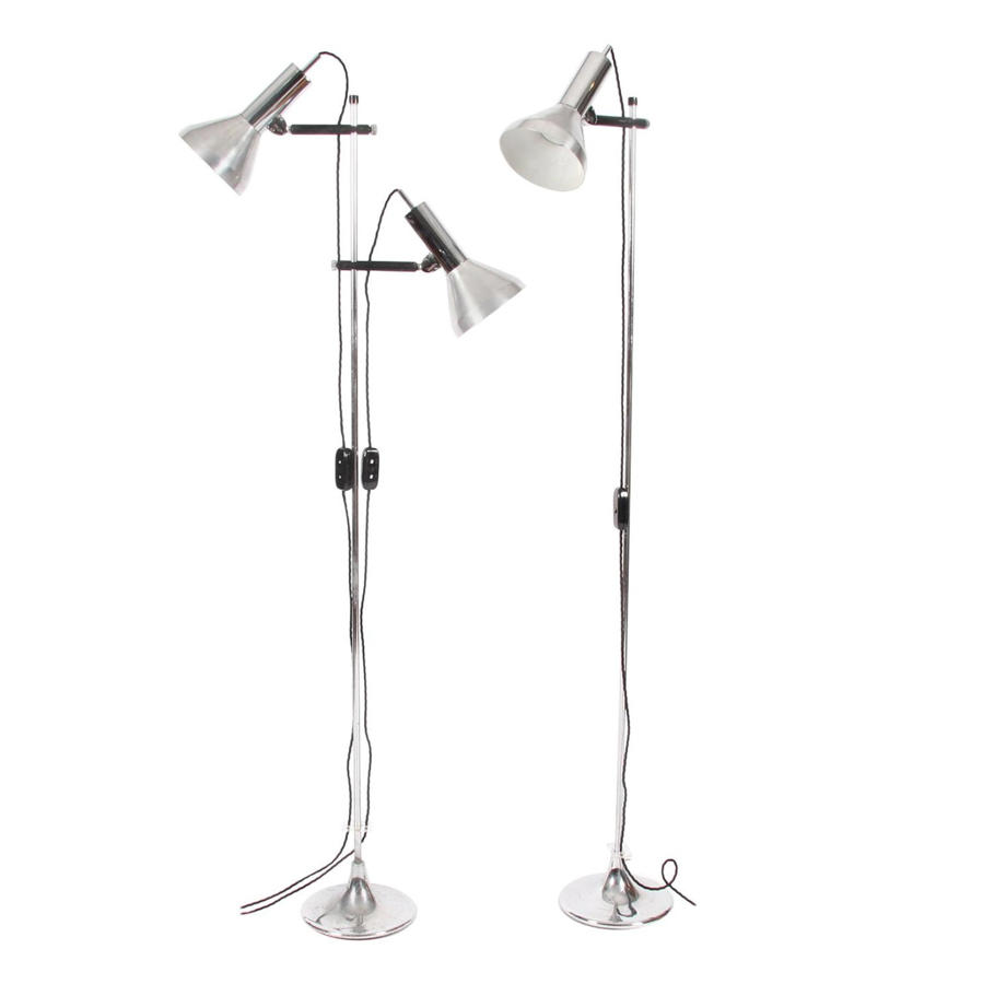 Pair of Spotlight Floor Lamps
