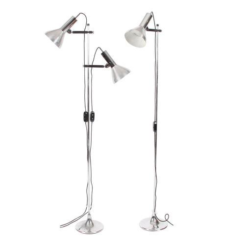 Pair of Spotlight Floor Lamps