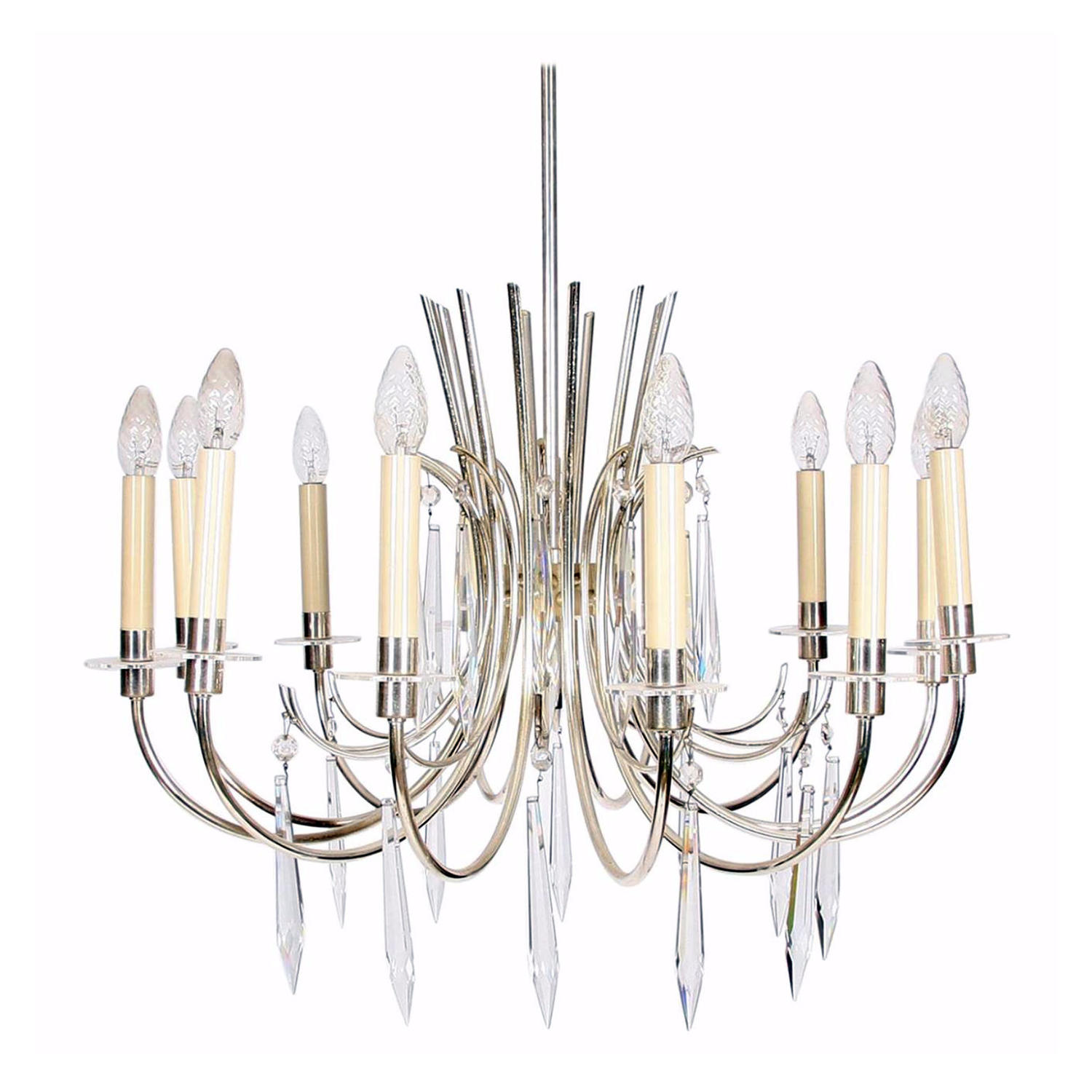 Oversized Icicle Drops Chandelier