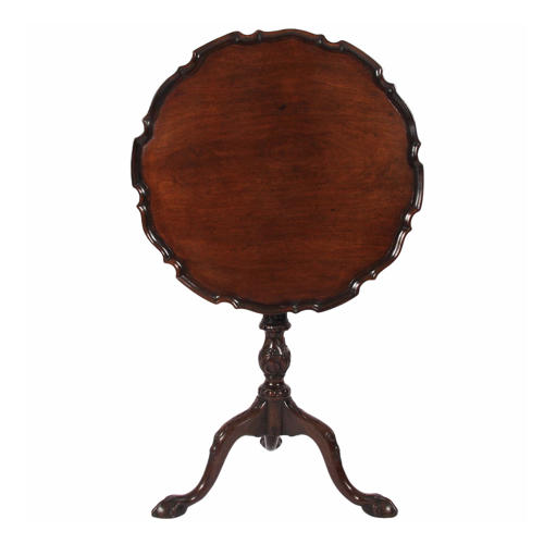 Scalloped Edge Occasional Table