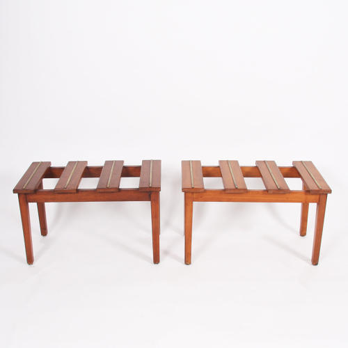 Pair of Luggage Stands