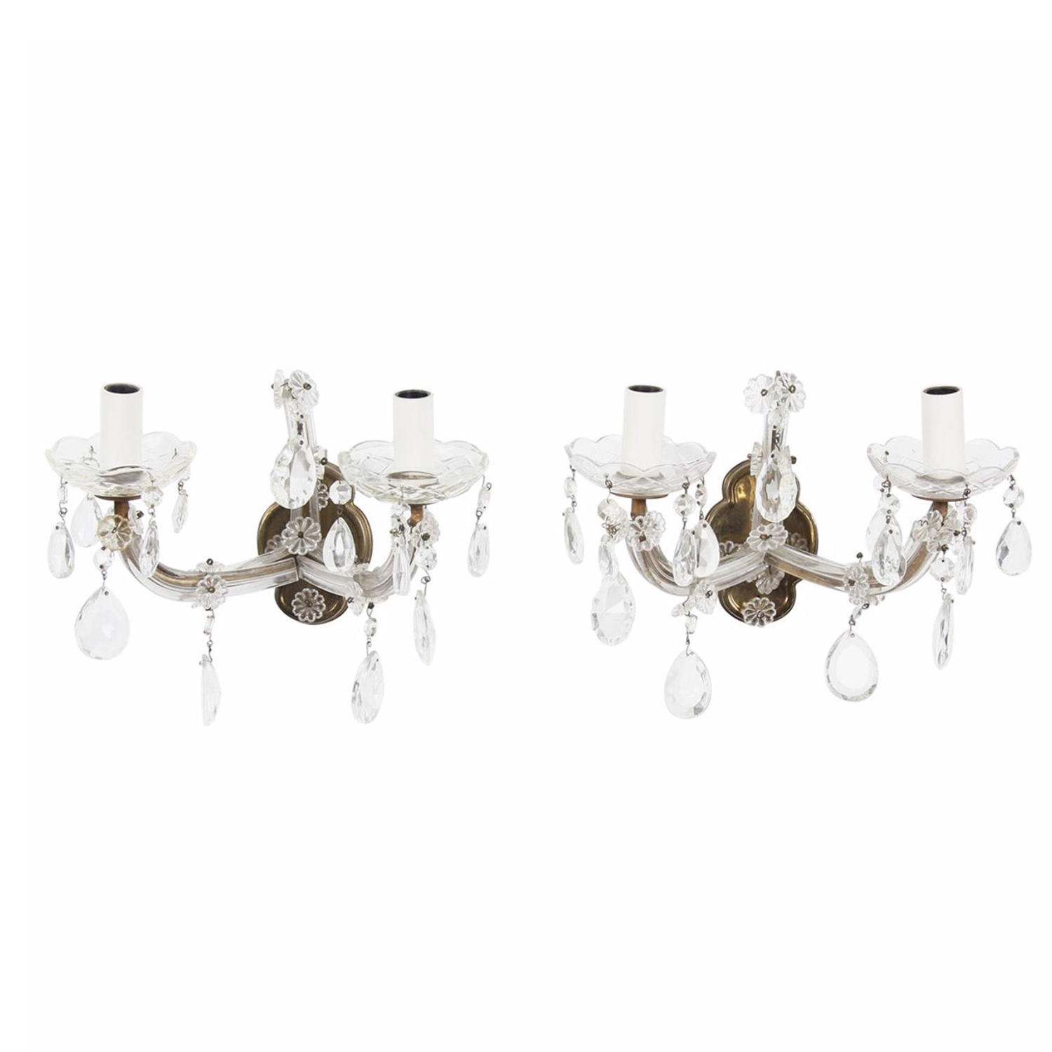 Pair of Marie Therese Style Wall Sconces