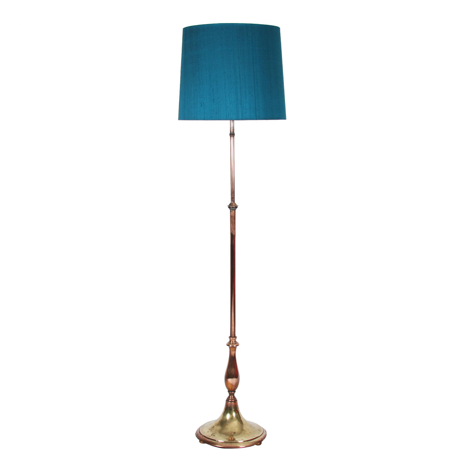 Copper & Brass Floor Lamp
