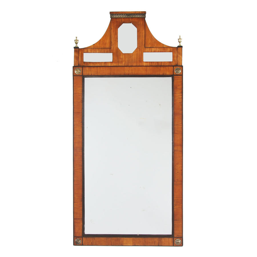 Swedish Fruit Wood Mirror