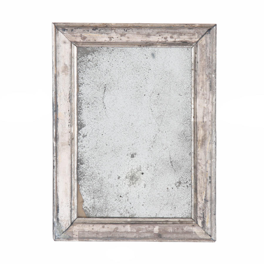 Small Silver Leaf Mirror