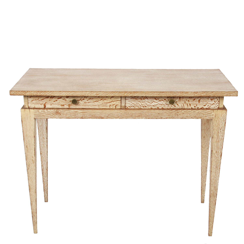 Oak Writing Table by Gouffe, Paris