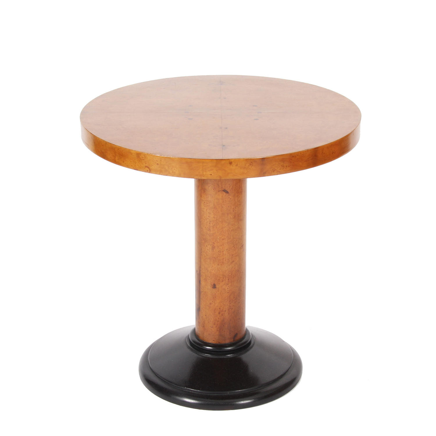Single Maple Veneer Side Table