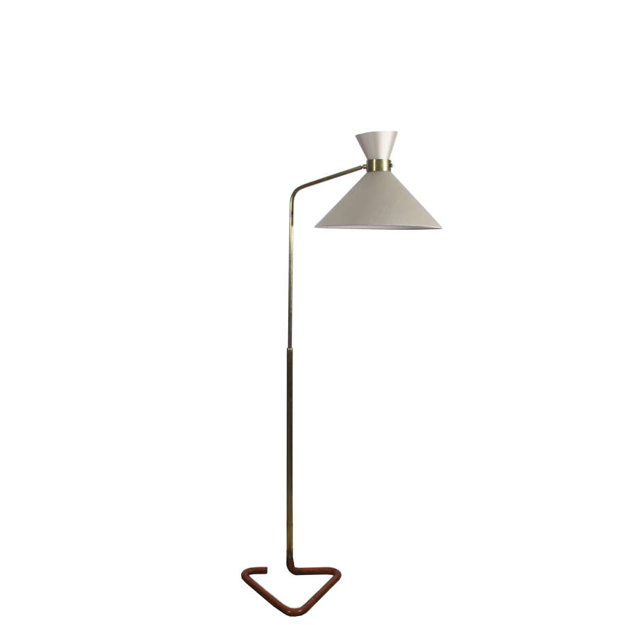 Brass Floor Standing Lamp