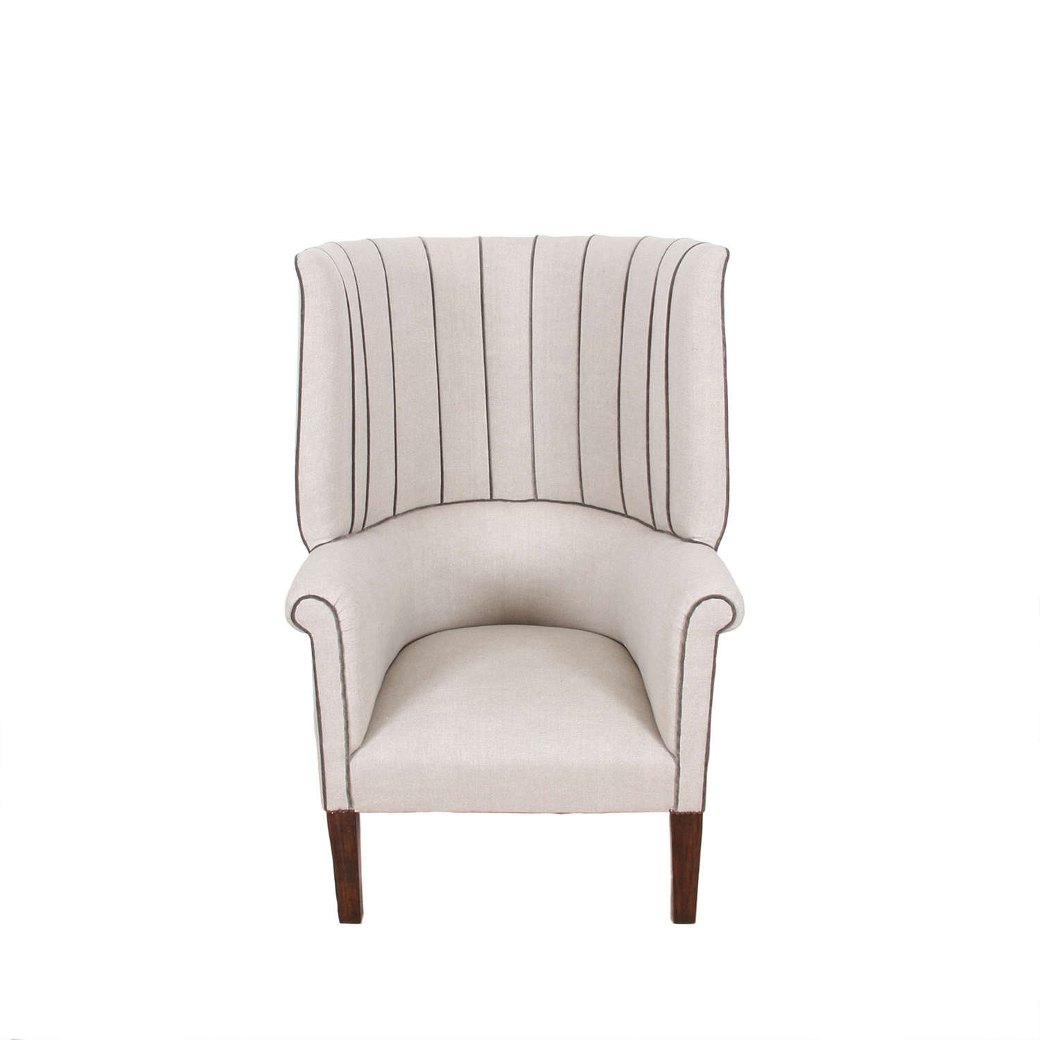 Early 20th Century English Wingback Armchair