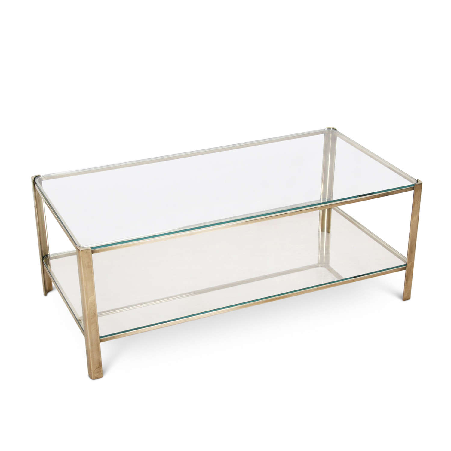 Jacques Quinet Two Tier Coffee Table