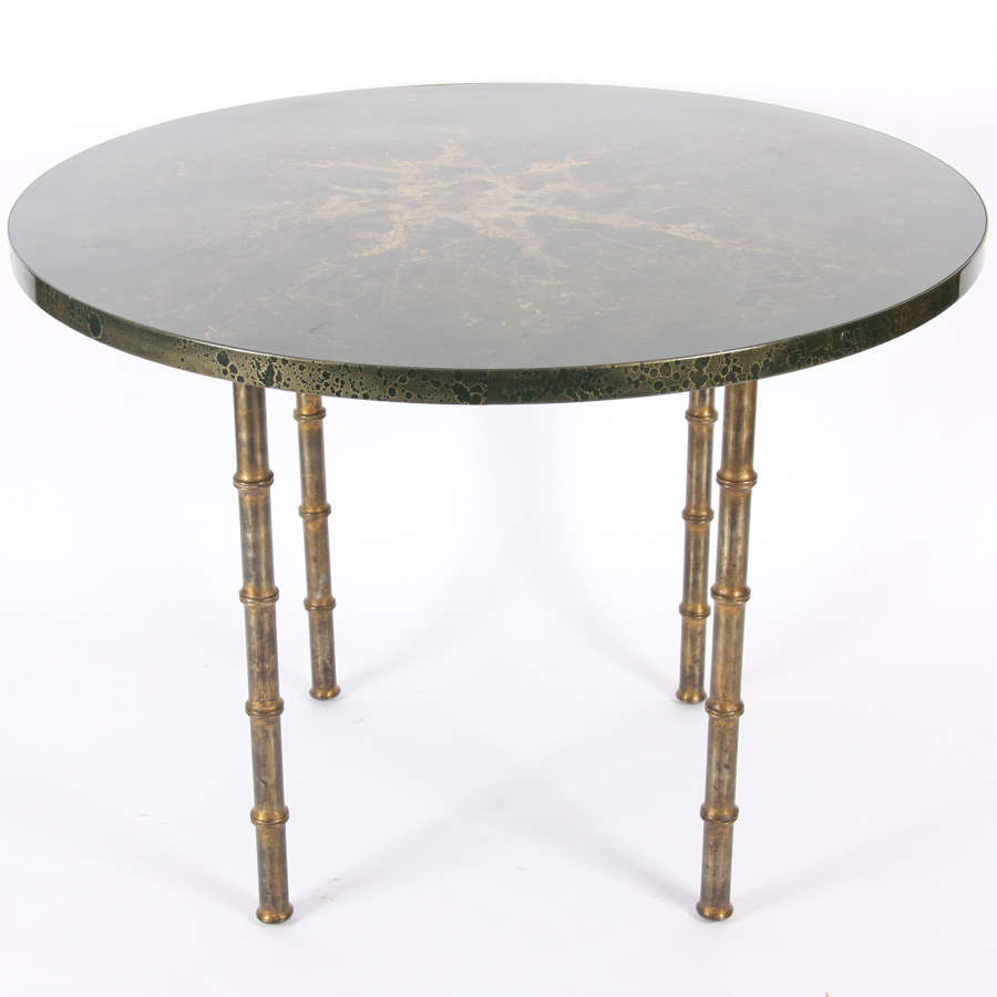 French 1970s Baguès-Style Table