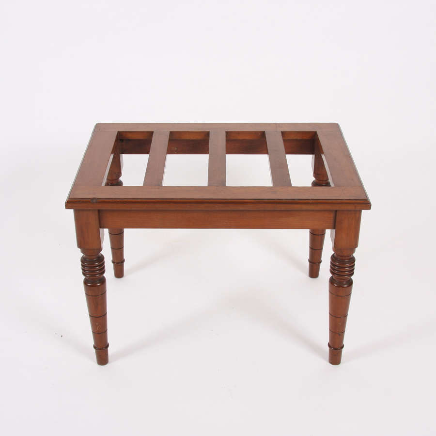 Early 20th Century Mahogany Luggage Rack