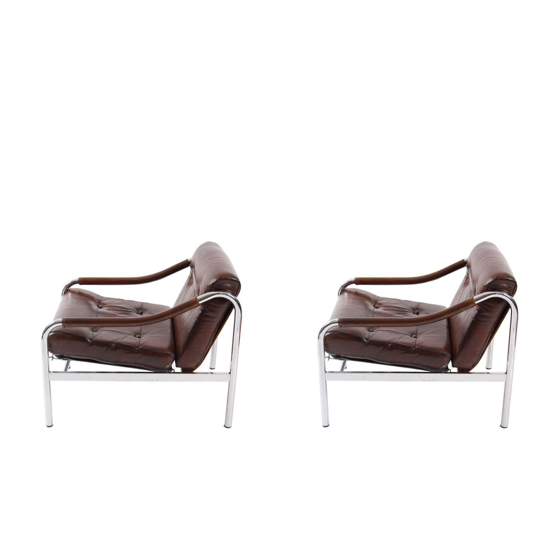 Pair of Pieff Chairs, British 1970s