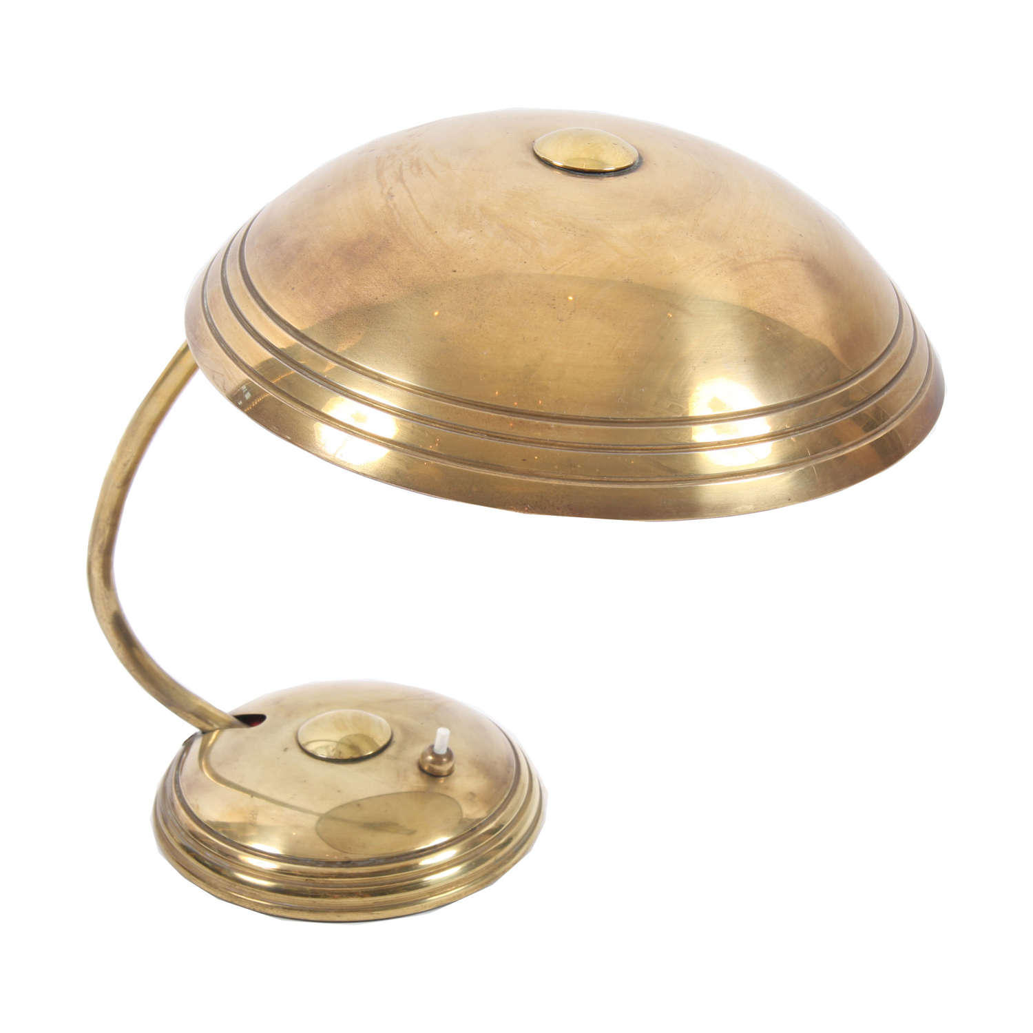 Brass Helo Desk Lamp