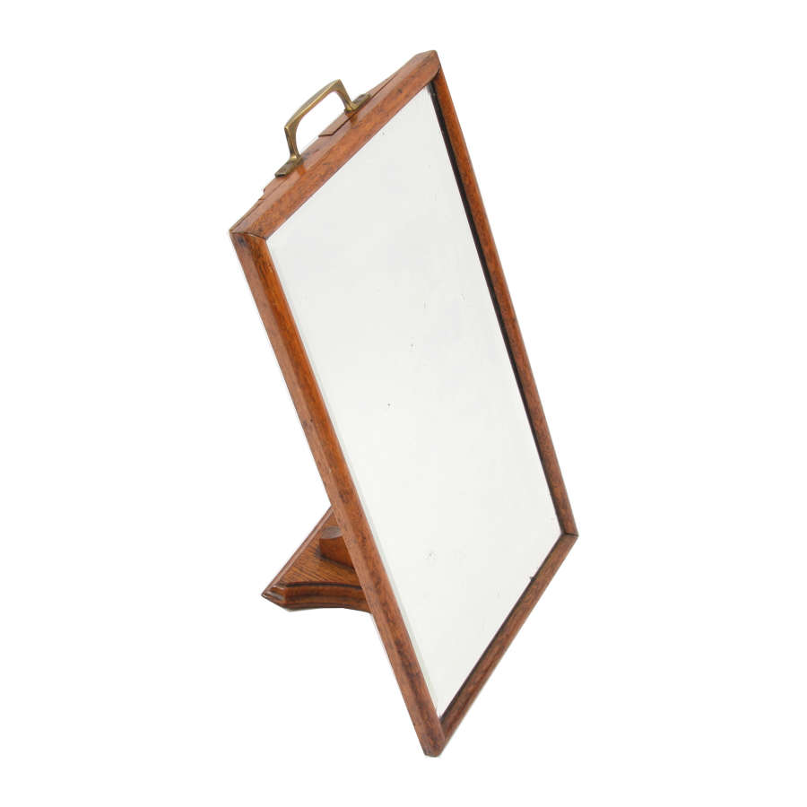 Oak Shoe Mirror