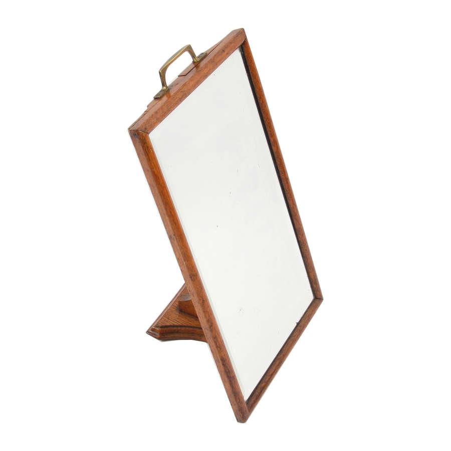 Oak Shoe Mirror
