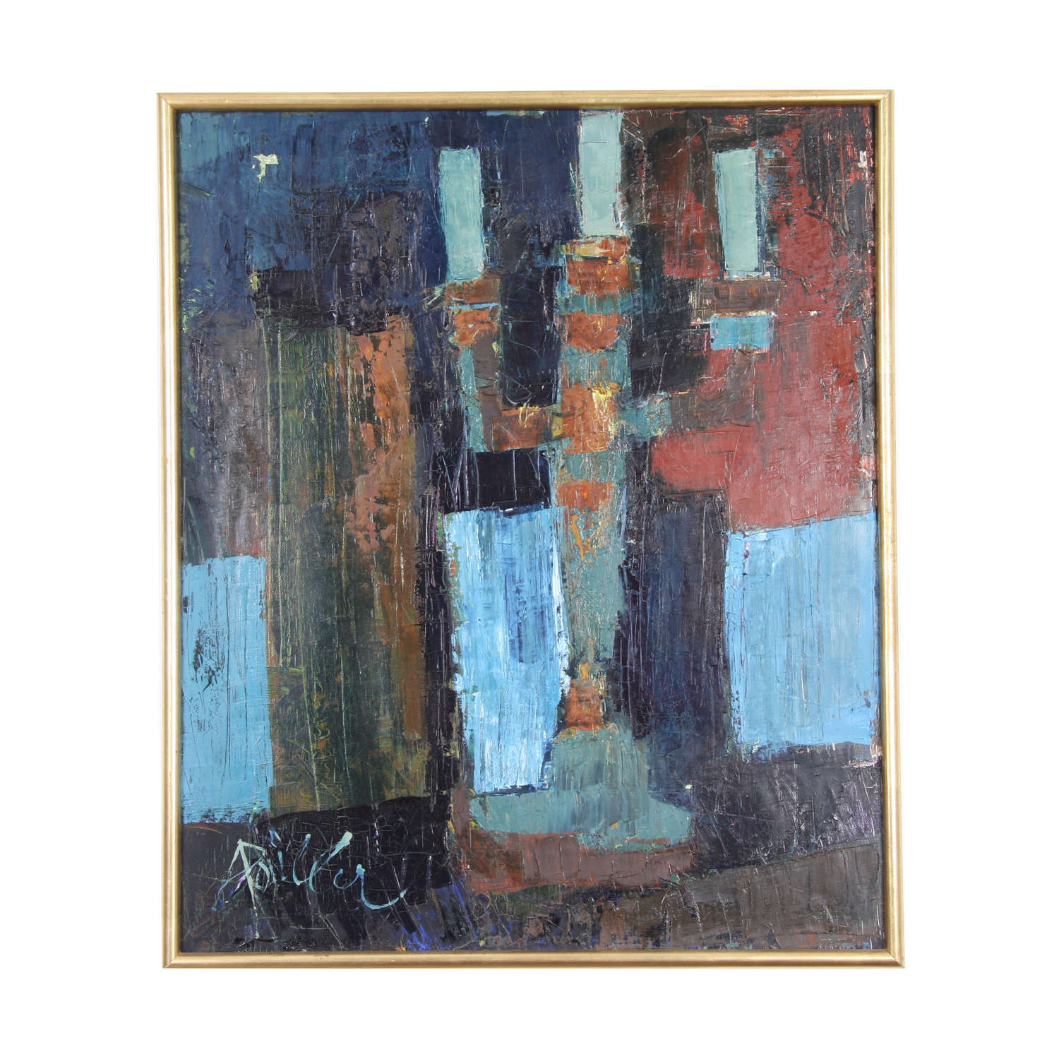 Still Life, Oil on Canvas by André Pallier Signed