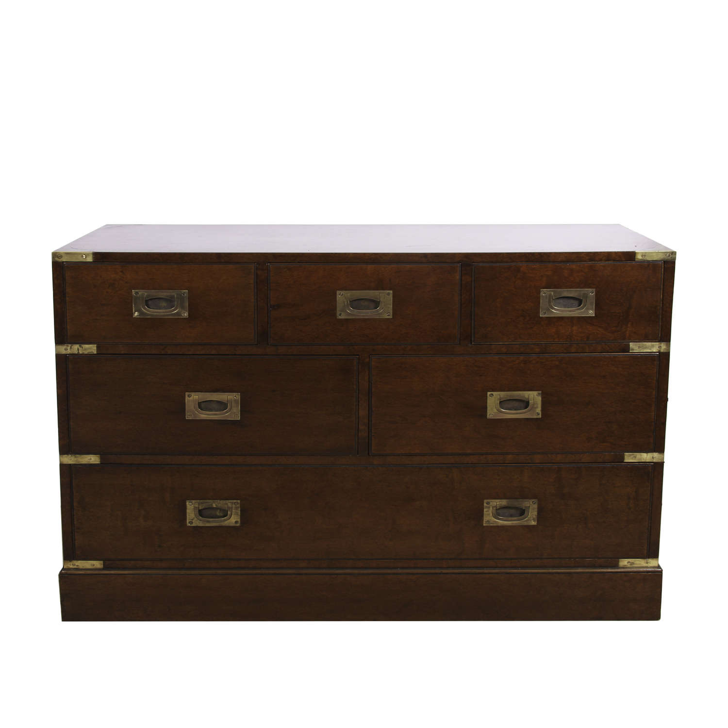 French 1960s Military Style Chest