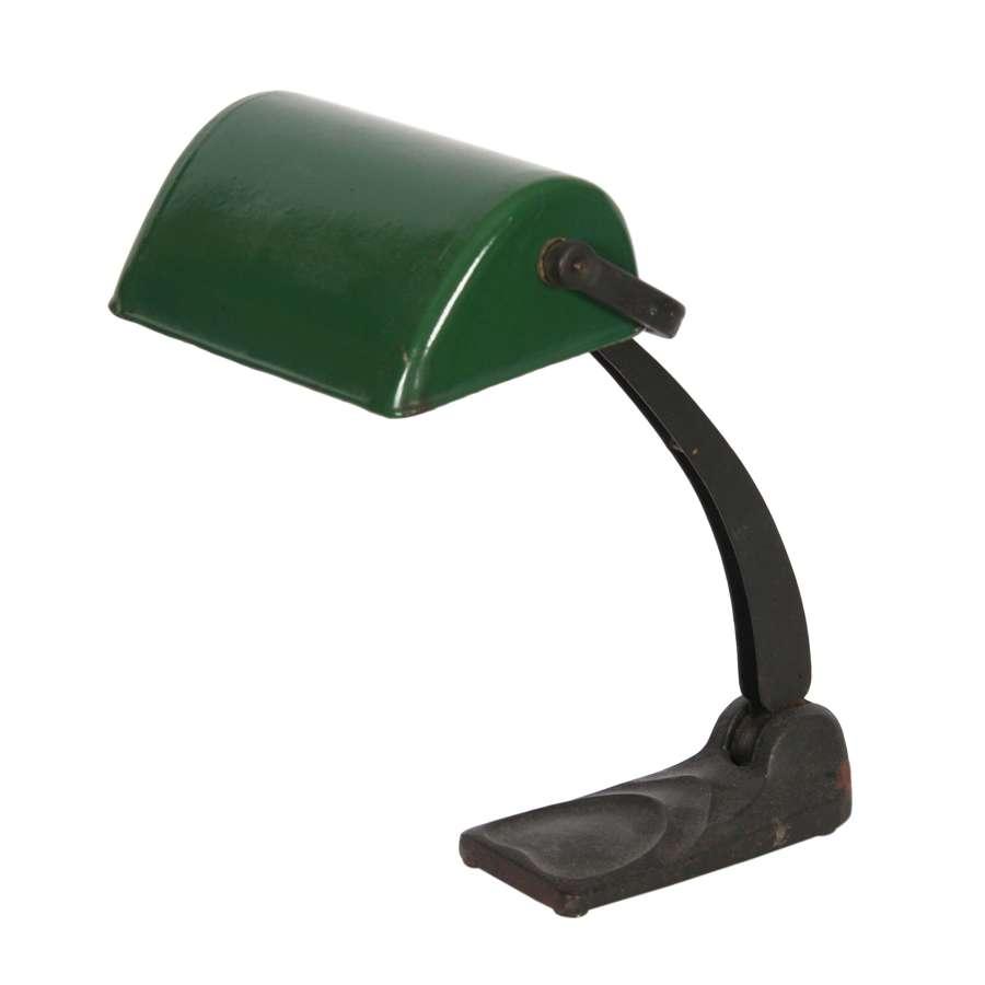 British 1930s Banker's Desk Lamp