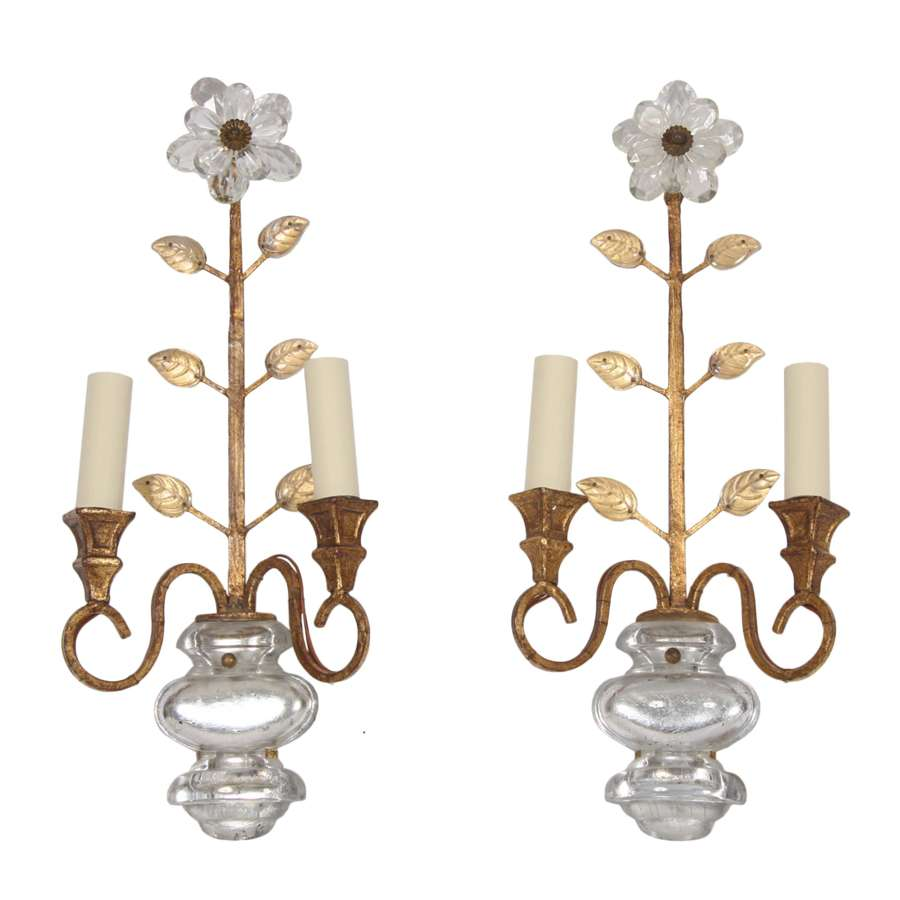 Pair of Mid 20th Century Banci Wall Sconces