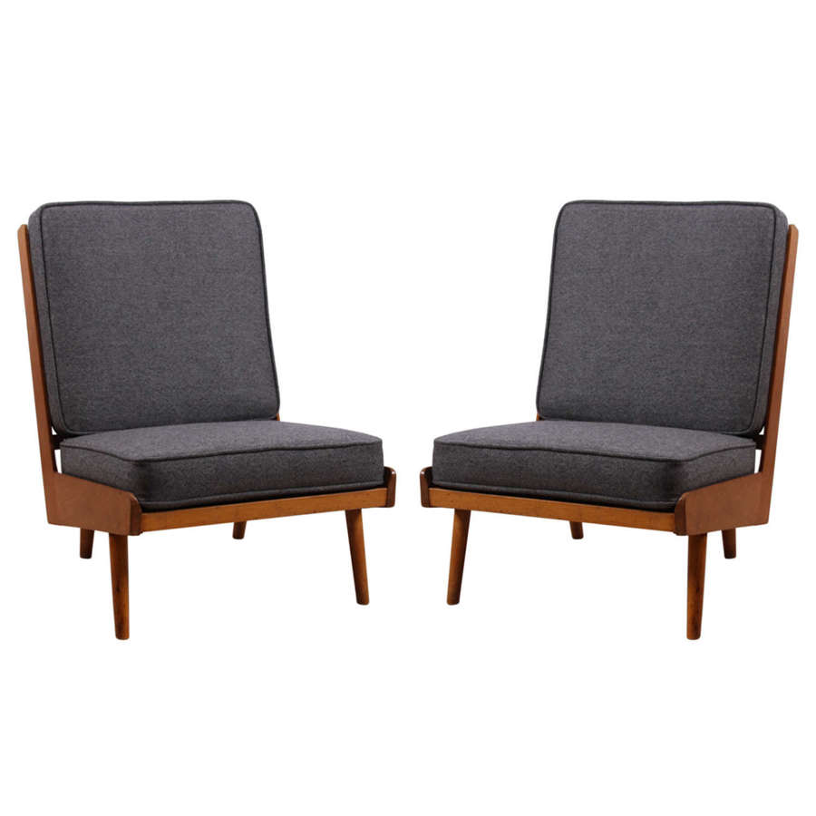 Pair of 1950s Robin Day Chairs