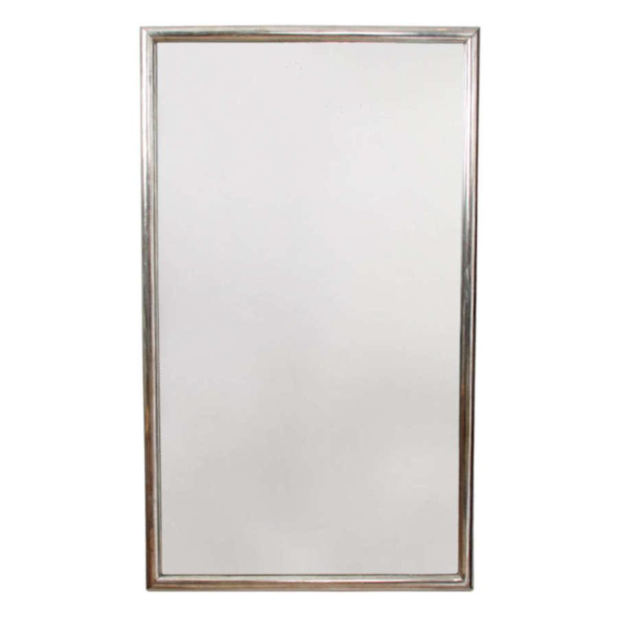 French Silver Leaf Mirror