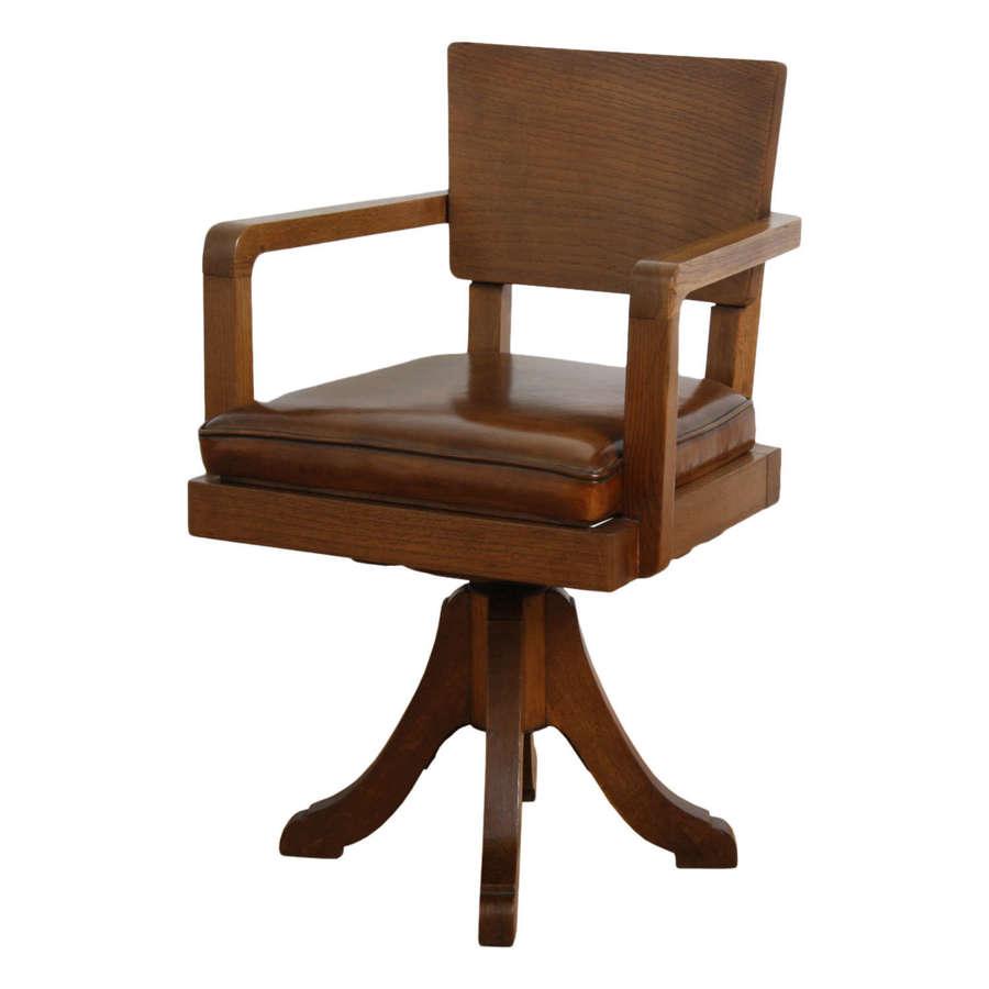 English 1930s Desk Chair